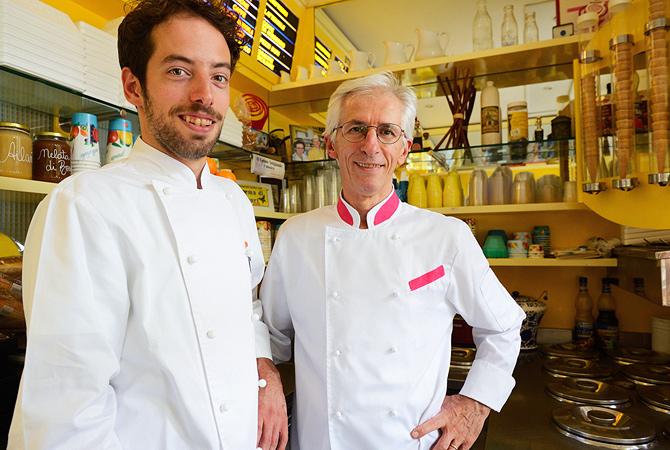 gelato italiano corrado sanelli-gelataio-salsomaggiore
