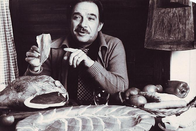 La prima edizione di Mangiacinema è dedicata ad Ugo Tognazzi. Image credits: curtesy of Famiglia Tognazzi
